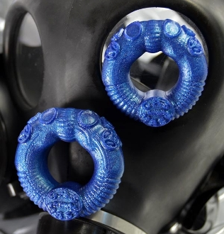 GAS-MASK Silicone Cockring OXBALLS