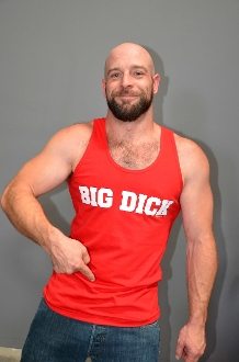 BIG DICK (Red) Tank by OXBALLS