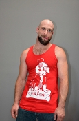 MILK-A-BONE (Red) Tank by OXBALLS