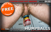 NO COUPON CODE NEEDED FREE HUMPBALLS COCKRING WITH EVERY ORDER